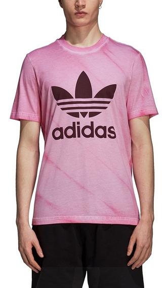 Remera adidas Originals Tie-dye Rosa Hombre