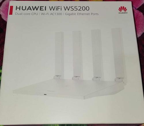 Imagem 1 de 5 de Roteador Gamer - Huawei Ws5000 - Dual-core - Ac1300 Gigalan