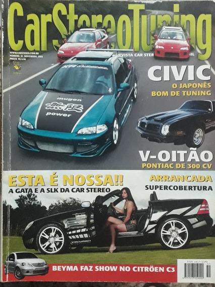 Revista Car Stereo Tuning - Novembro De 2003 - N° 51