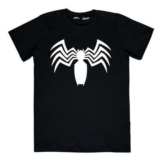 Playera Mascara De Latex Darks × Marvel Venom