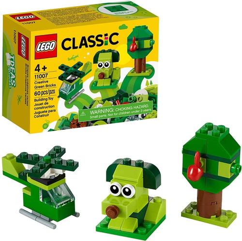 Lego Classic  Perrito Verde 3 En 1 Figuras 60 Pzs