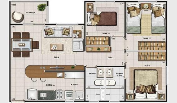 Apartamento Residencial À Venda, Parque Euclides Miranda, Sumaré. - Ap1274