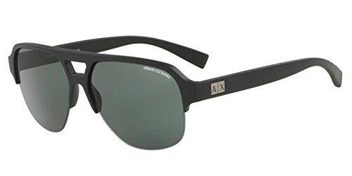 Armani Exchange Ax4056s Sunglasses 807871-59 - Matte Black F