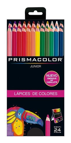 Colores Prismacolor Junior Redondos Caja X24 Punta 4mm