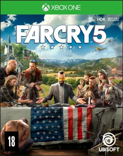 Farcry 5 E The Evil Within 2 Midia Digital Xbox One