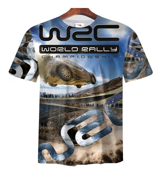 Remera Sublimada Wrc World Rally Championship Ranwey Talle M