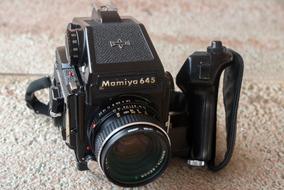 Mamiya 645 1000s Com Objetiva Sekor C 80mm F:2.8