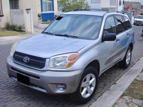 Toyota Rav4 4cil Aut 2 Dueños Fact Orig Placas Jal Impecabl