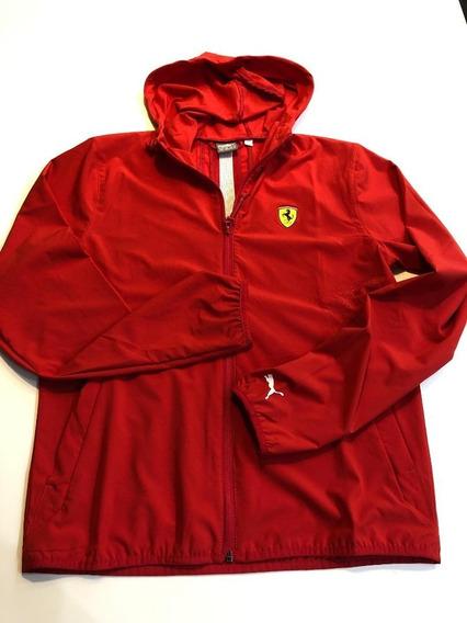 Jaqueta Puma Scuderia Ferrari Vermelha Original