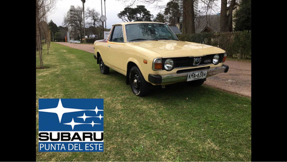 Subaru Brat 4wd 1600 Pickup