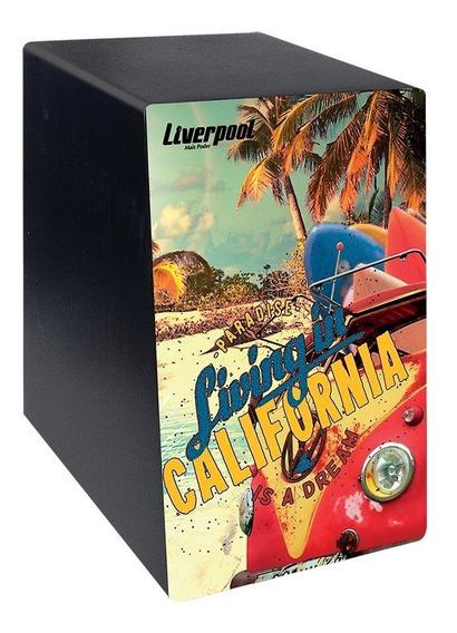 Mini Cajon Estampa California Liverpool Caj Calif