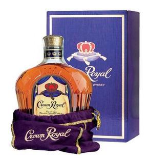Whisky Crown Royal Con Caja Y Funda 1 L