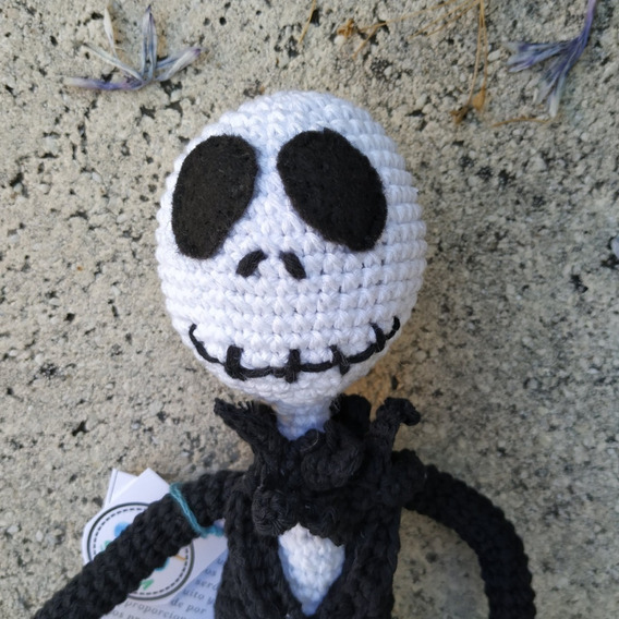 Jack and Sally crochet patterns about 16'' | Patrones amigurumi ... | 568x568