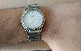 Reloj Longines Automatico Acero Inoxidable Swiss Made