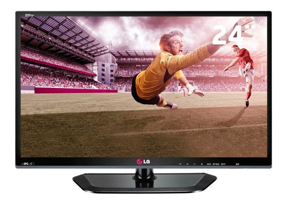 Tv Monitor Led 24 Hd Lg 24mn33n Conv. Digital, Hdmi E Usb