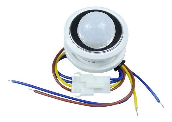 Interruptor Pir C/ Sensor Movimento Proximidade P/ Lampadas