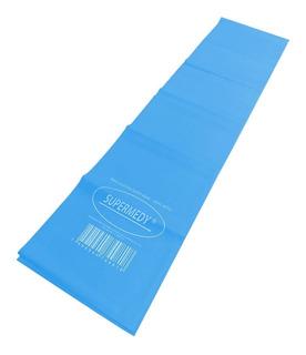 Faixa Elástica Superband Azul Forte 120 X 15 Cm Supermedy