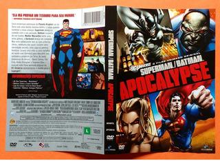 Dvd Superman Batman Apocalypse O Filme Animado