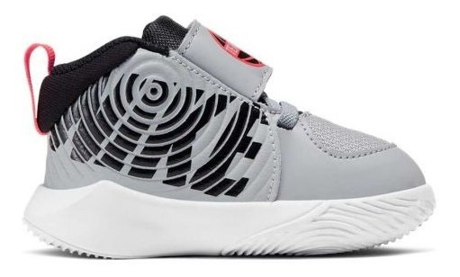Tenis Infantiles Nike Team Hustle D 9 Td 6007 Gris Bebé