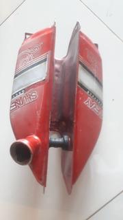 Tanque Combustivel Xy 50 Super Smart Vermelho Shineray