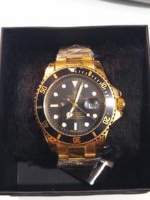 Relógio Masculino Rolex Dourado
