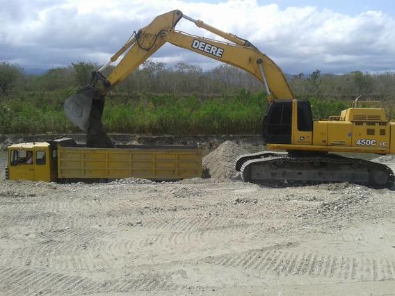 Excavador Jumbo John Deere 450clc Año 2005