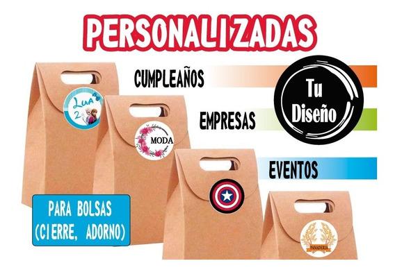 170 Etiquetas Personalizada Autoadhesivas Circulares.. 6cm..