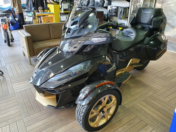 Triciclo Can-am Spyder Rt-ltd 10anos Semi-automatica