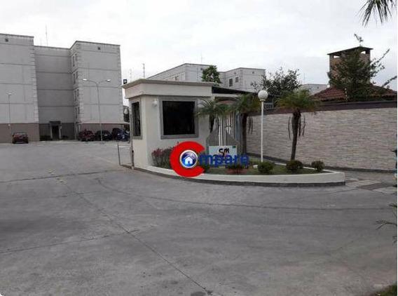 Apartamento Com 2 Dormitórios À Venda, 40 M² **leilão Caixa**- Água Chata - Guarulhos/sp - Ap7271