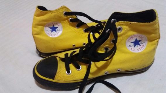 Zapatos Deportivos Converse Unisex Botines Talla 37 Original