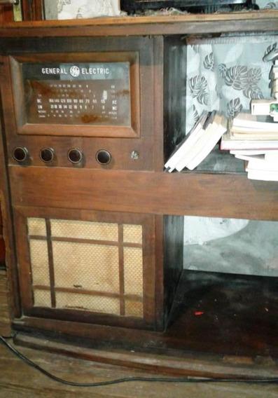Mueble Antiguo Con Radio General Electric ¡rebajado!