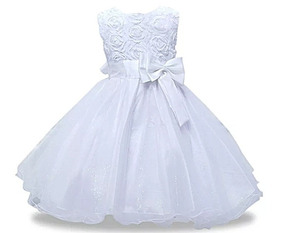 Vestido De Criança Festa E Casamento Infantil Pronta Entrega