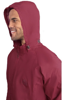 Campera Rompe Viento Impermeable Running Hombre Black Rock