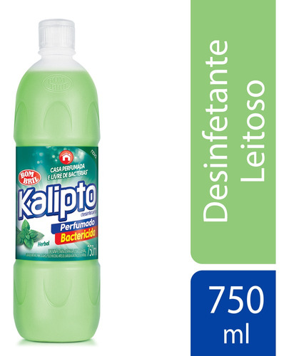 Imagem 1 de 1 de Desinfetante Kalipto Herbal 750ml