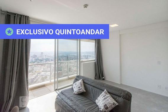 Apartamento No 29º Andar Mobiliado Com 1 Dormitório E 1 Garagem - Id: 892993982 - 293982