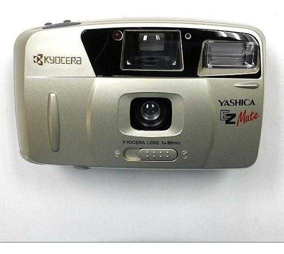 Câmera Fotográfica Yashica Ezmate Colecionador
