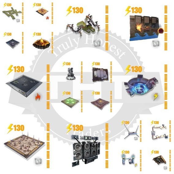 Trampas 130 Fornite Salvando Al Mundo $50 -1200pz