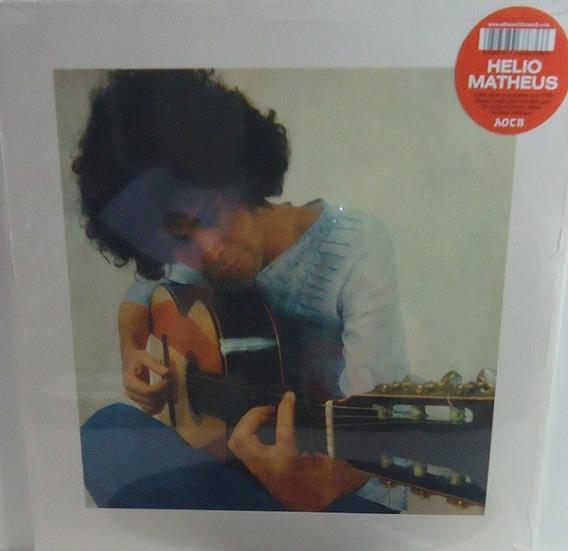 Hélio Matheus 1975 St Lp Marraio Reedição Remaster Limitada