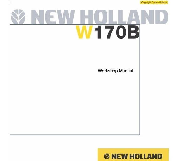 Manual De Serviço - New Holland - W170b