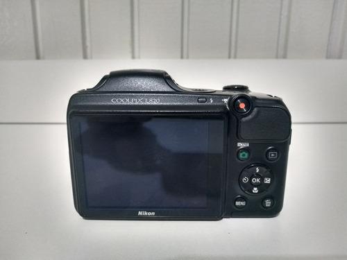Câmera Nikon Coolpix L820  - Funcionando Perfeitamente