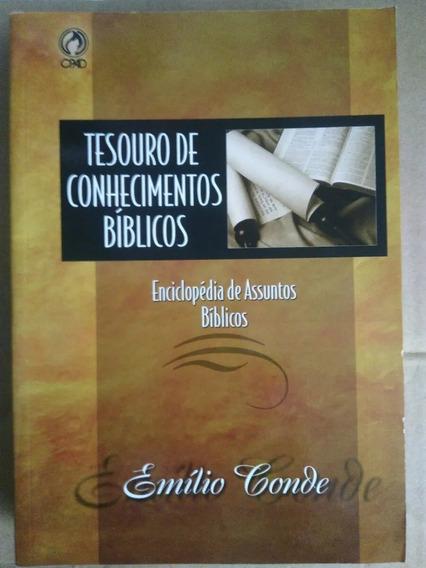 Tesouro De Conhecimentos Bíblicos Cpad Emilio Conde Livro