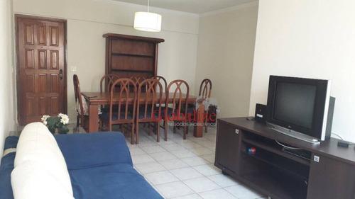 Imagem 1 de 24 de Apartamento Com 2 Dormitórios À Venda, 112 M² Por R$ 410.000,00 - Centro - São Vicente/sp - Ap0248