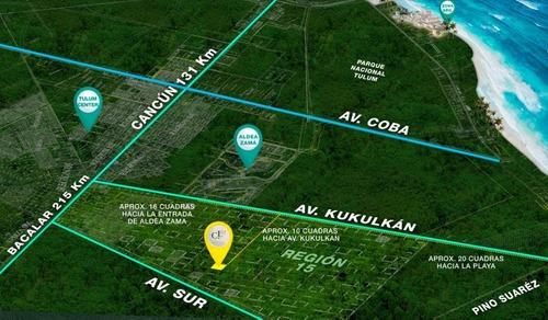 Lotes De Inversión Cocoloba 112 En Tulum