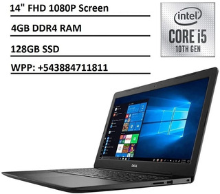 Notebook Dell Intel Core I5 1035g4 4gb 128gb Sin Caja Jujuy