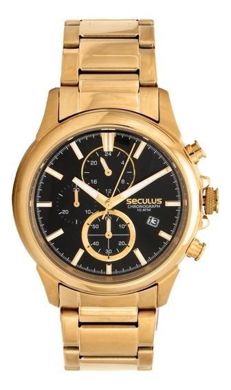 Relógio Masculino Analógico Seculus 13023gpsvda1