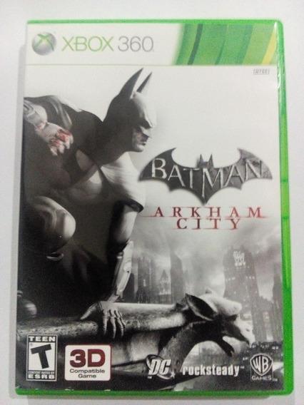 Batman Arkham City P/ Xbox 360 Original Frete Cr $14
