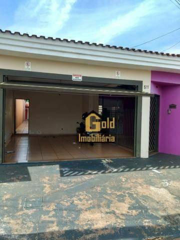Casa Com 2 Dormitórios Para Venda E Alugar, 179 M²  - Parque Dos Pinus - Ribeirão Preto/sp - Ca0783