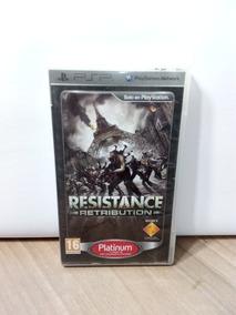 Resistance Retribution Psp Usado