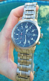 Relógio Bulova Marine Star Crono Quartz 100m Ano 2012 Novo !