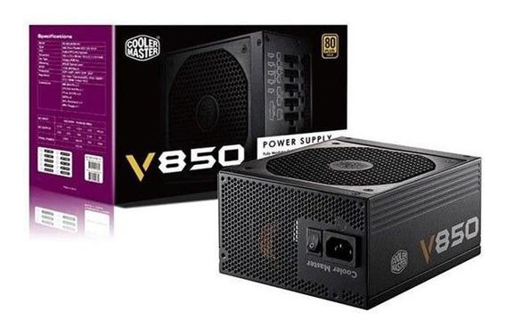 Fonte Coolermaster V850 850w Modular 80 Plus Gold